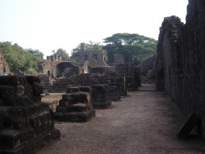 """Ruins in Old Goa"""