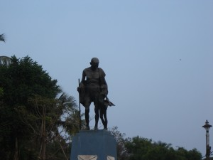 """Statue of the Great Mahatma Gandhi"""