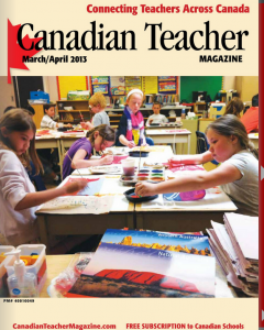 Canadian Teacher Magazine Cover