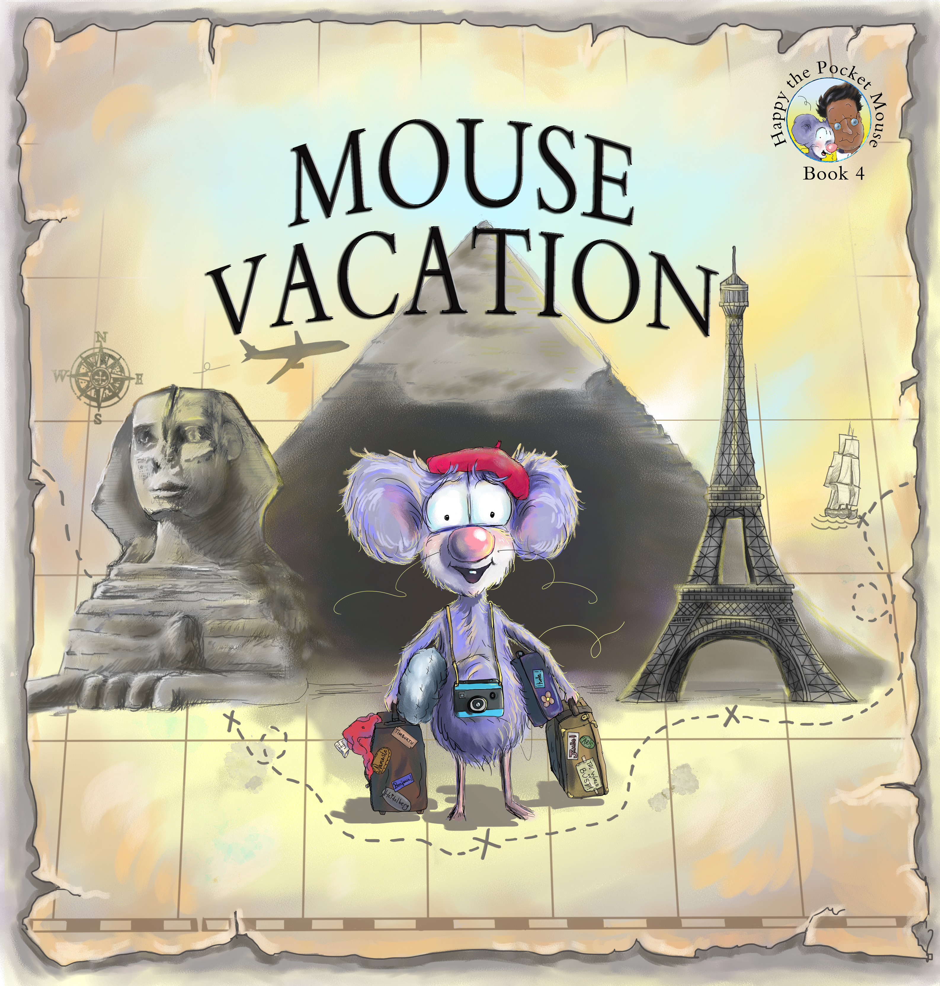 Mouse Vacation, (book 4 In The Happy The Pocket Mouse Series), Ronsdale  Press, Vancouver, 2016 Isbn: 9781553804796